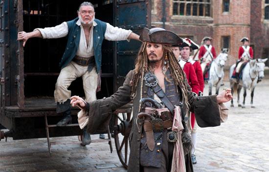 Jack Sparrow and Gibbs
