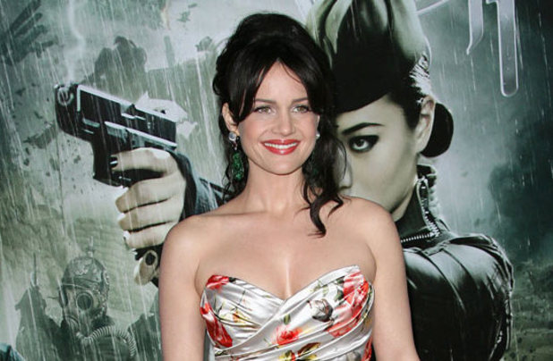 Carla Gugino at the Sucker Punch premiere