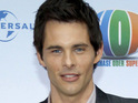 James Marsden says that he found it difficult to act with the animated characters in Hop.