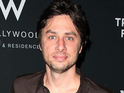 Zach Braff confirms that he is straight after a fake statement saying he was gay was posted to his website.