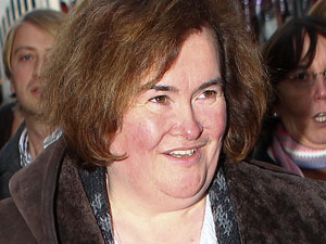 Susan Boyle - The Britain's Got Talent star is 50 on Friday.
