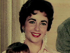 Elizabeth Taylor in 1955
