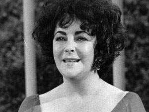 "Elizabeth Taylor appears on CBS television's ""Tribute to Elizabeth Taylor"""