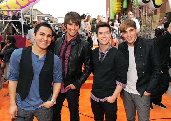 Nickelodeon Kids Choice Awards 2011: Orange Carpet