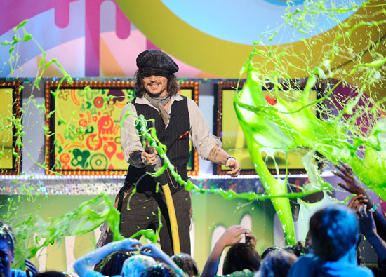 Nickelodeon Kids Choice Awards 2011: Slime Gallery