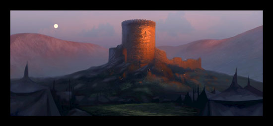 'Brave' concept art from Pixar