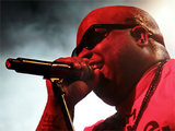 Cee Lo Green performing live on stage at the Manchester Academy, England