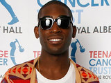 Tinie Tempah Poses Backstage at the Teenage Cancer Trust final show at the Royal Albert Hall in London