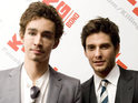Ben Barnes and Robert Sheehan talk to DS about Brit comedy Killing Bono.