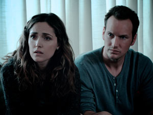 Rose Byrne and Patrick Wilson in 'Insidious'