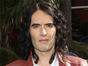 Russell Brand attending the Los Angeles premiere of &#39;Hop&#39;