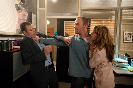 Maria pleads with Chris not to hurt Frank