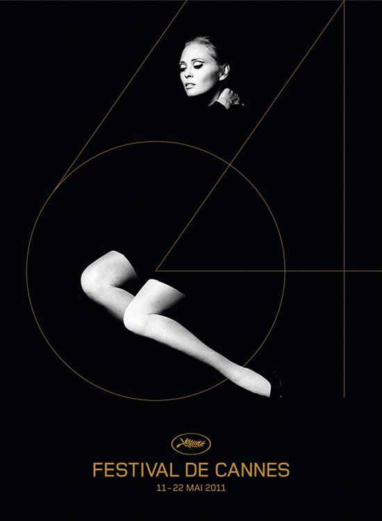 Faye Dunaway Cannes 2011 poster
