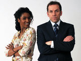 Death In Paradise: Sara Martins and Ben Miller