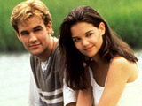 Dawson and Joey in Dawson's Creek