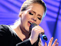 Adele performs a rendition of Bonnie Raitt's 'I Can't Make You Love Me' during her iTunes Festival set.