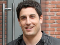 Jason Biggs discusses his famous pie scene and playing Jim's dad in an American Pie prequel.