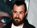 An unnamed vandal puts slices of bologna on Justin Theroux's motorcycle.