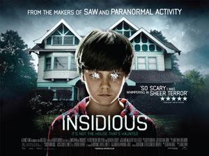 Insidious quad poster