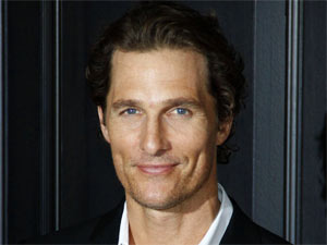 Matthew McConaughey attending a photocall for the movie 'Der Mandant' in Berlin, Germany