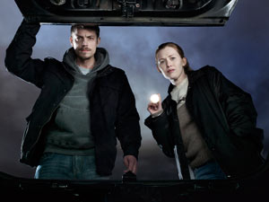 Stephen Holder and Sarah Linden from &#39;The Killing&#39;