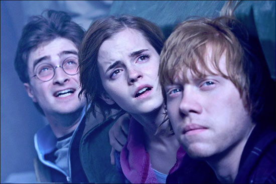 Harry, Hermione and Ron from 'Harry Potter and the Deathly Hallows Part 2'