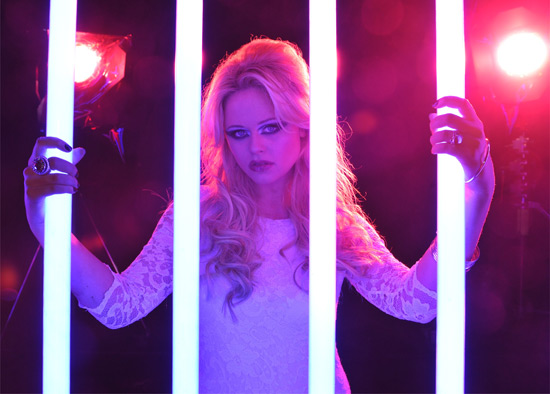 Emily Atack in The Kixx music video