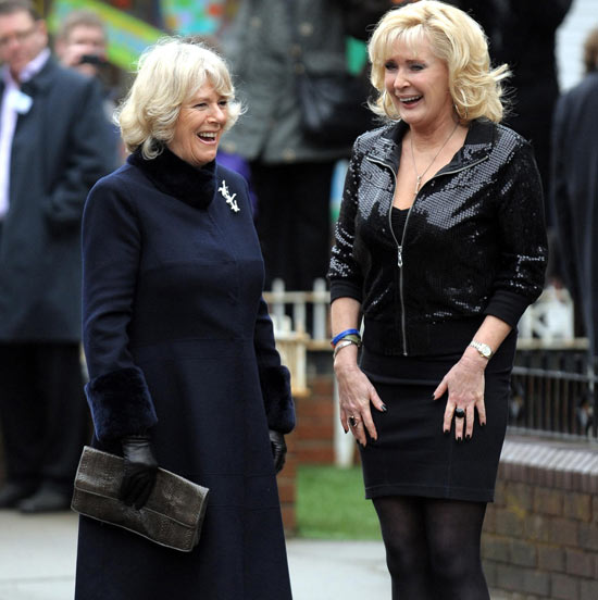 Callard meets Camilla, Duchess of Cornwall