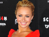 Hayden Panettiere at the world premiere of 'Scream 4' in Los Angeles
