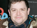 Patton Oswalt admits he was terrified to film a kiss with Charlize Theron.
