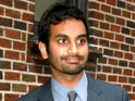 Comedian Aziz Ansari admits that he was intimidated by 30 Minutes or Less's action sequences.