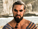 Jason Momoa says that he spends more time naked than he does talking on Game of Thrones.