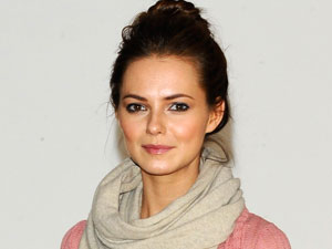 Kara Tointon at the first day of rehearsals for the west end production of 'Pygmalion'