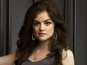 Lucy Hale as Aria Montgomery in 'Pretty Little Liars'