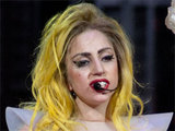 Lady GaGa performing for her Monster Ball tour in Tampa, Florida