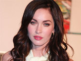 Megan Fox attending the 50th anniversary celebrations of the Jaguar E-Type vehicle in New York City
