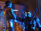 Smallville S10E18 'Booster': Booster Gold and Blue Beetle