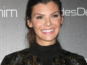 Ali Landry gives birth in Los Angeles on Saturday.