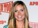 Heidi Klum will appear naked in an advert for Project Runway's upcoming season.