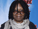 Whoopi Goldberg says that her cat isn't happy about the new kitten she's adopted.
