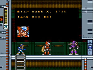 SNES game 'Mega Man X'