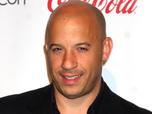 Actor Vin Diesel