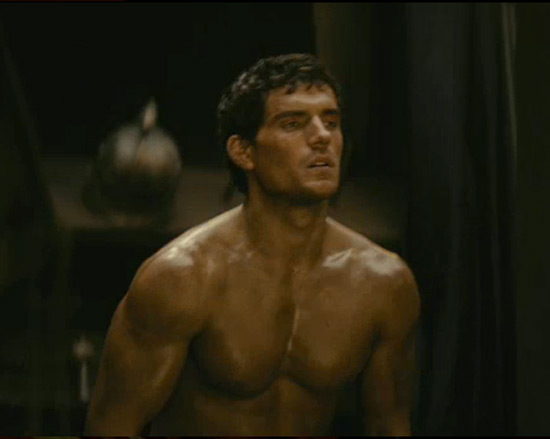That's Henry Cavill we're hooraying, of course, for doing it the Gay Spy way ...