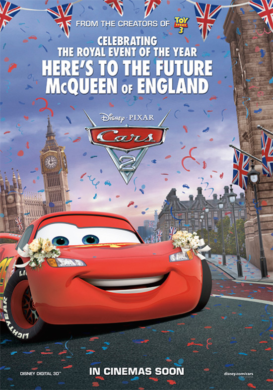 Cars 2: Royal Wedding poster