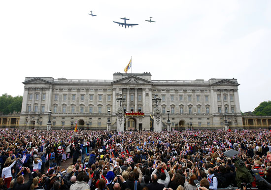 Buckingham Palace flyover