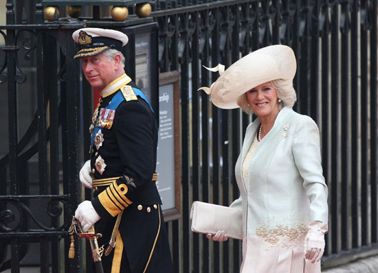 Prince Charles and Camilla arrive