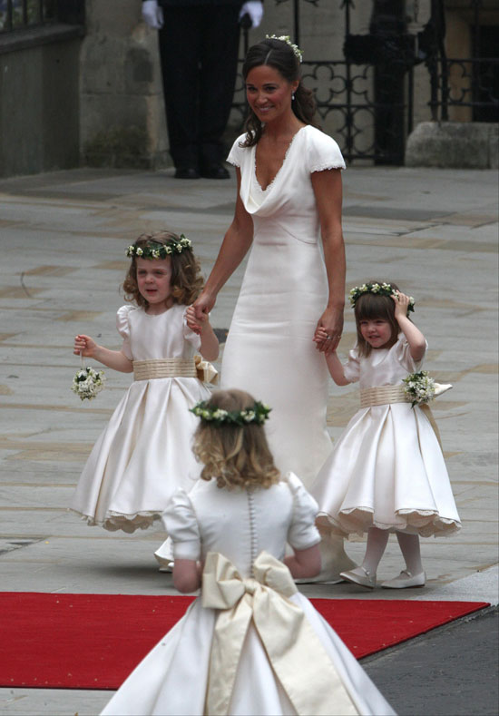 Pippa Middleton bridesmaids