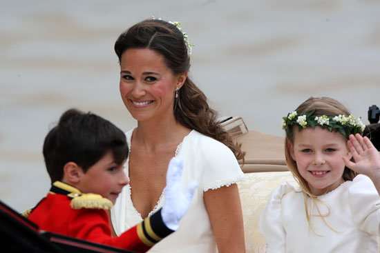 Pippa travels to Buckingham