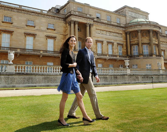 Prince William and Kate Middleton weekend break