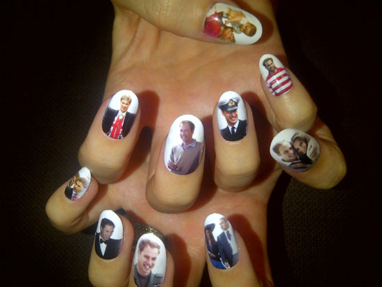 Katy Perry Royal Nails